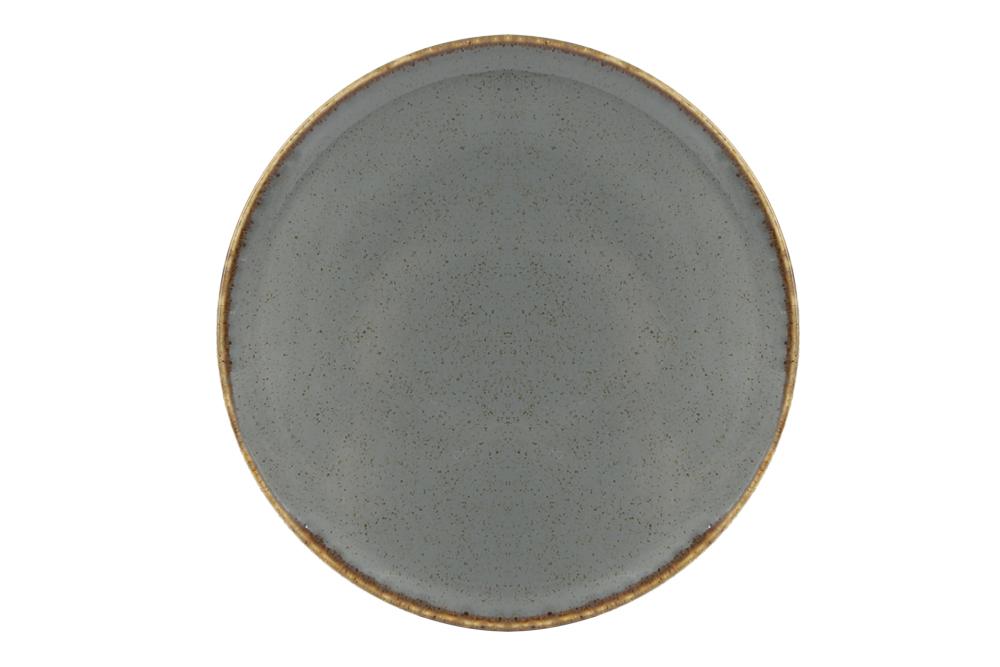 Dark Grey Pizza Plate 28 Cm