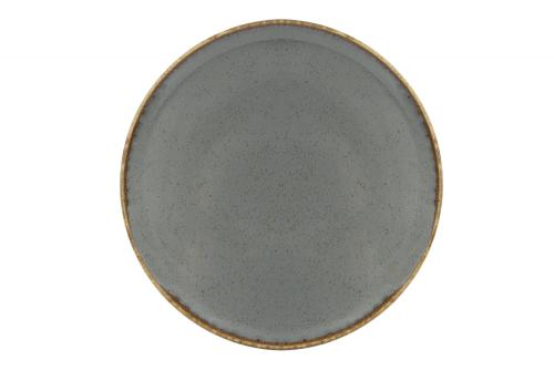 Dark Grey Pizza Plate 28 Cm