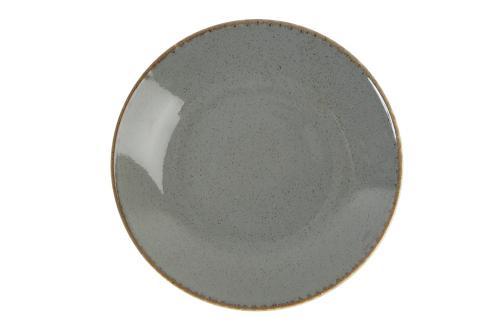 Dark Grey Cous Cous Plate 26Cm