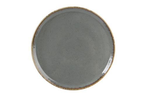 Dark Grey Pizza Plate 20Cm