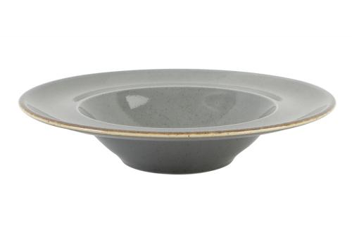 Dark Grey Deep Plate 31Cm