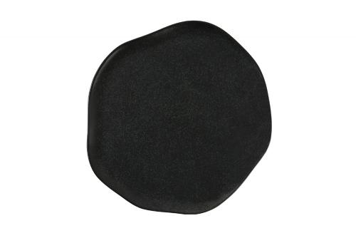 Tallrik flat 32 cm svart