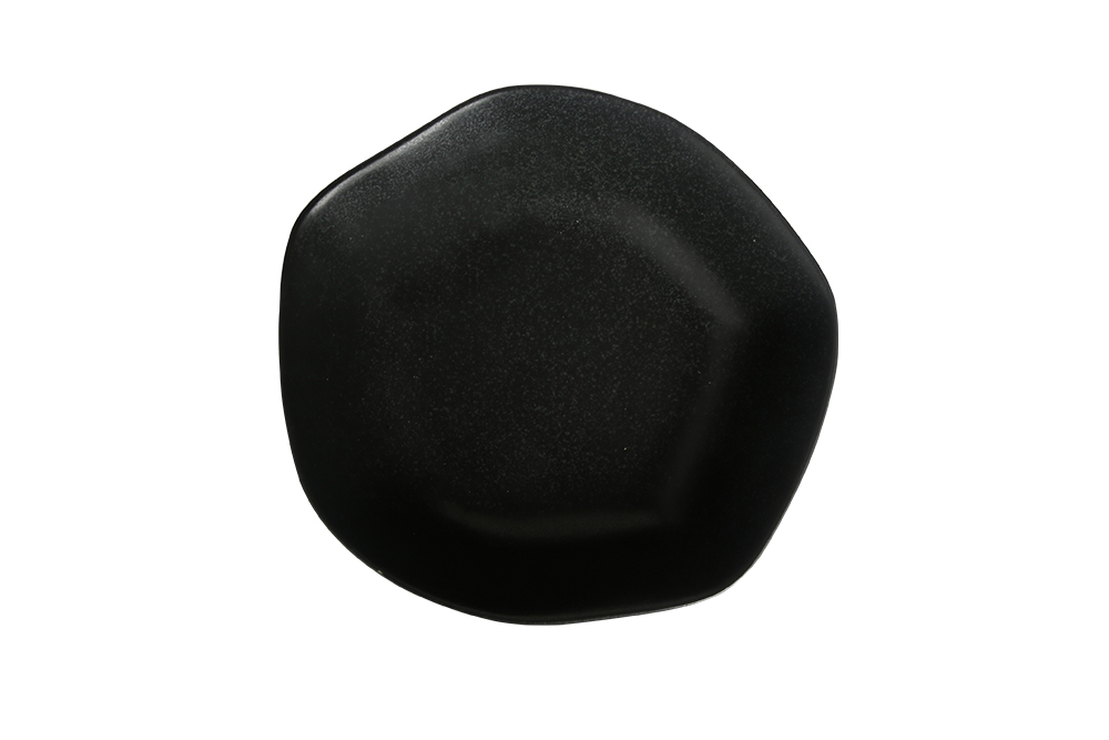 Tallrik djup 15 cm svart