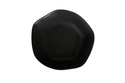 Black Amorphous Bowl 15Cm