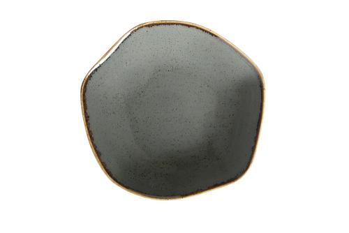 Dark Grey Amorphous Bowl 15Cm