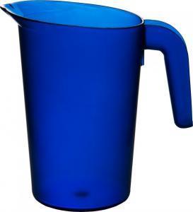 Karaff i plast 1 L blå