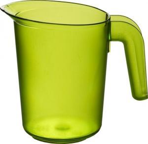 Karaff i plast 1 L grön