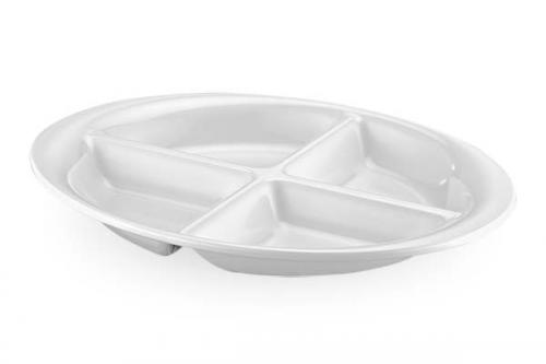 TINA Tray with 4 compartments