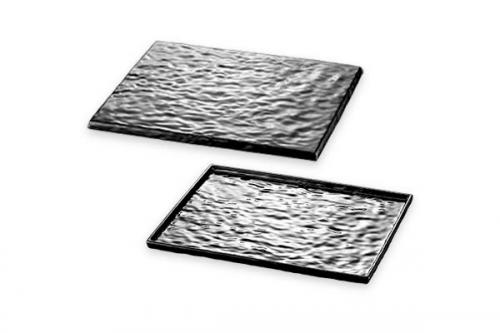 Stone Effect GN. 1/1-53 x 32,5 cm SVART