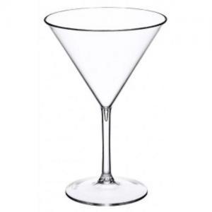 Martiniglas i plast 21 cl