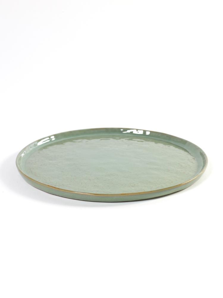 Plate Medium D28 H1.6 Lightgreen