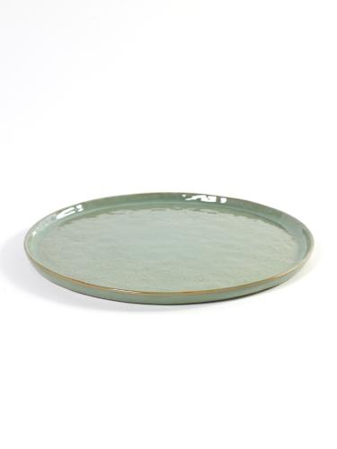 Plate Medium D28 H1.6 Lightgreen