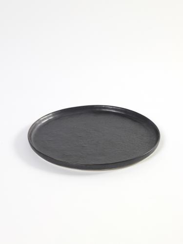Plate Small D22,2 H1,3 Black