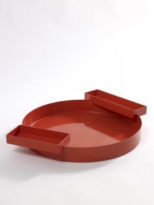 Plate Archiduc Bram Boo D40 Red