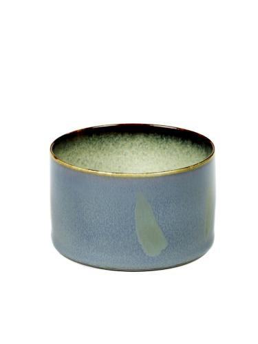 Goblet Cylinder Low D7,5 H5 Smokey Blue / Misty Grey