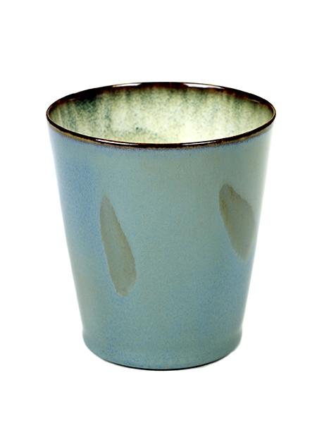 Goblet Conic M D8,5 H9,5 Smokey Blue / Misty Grey