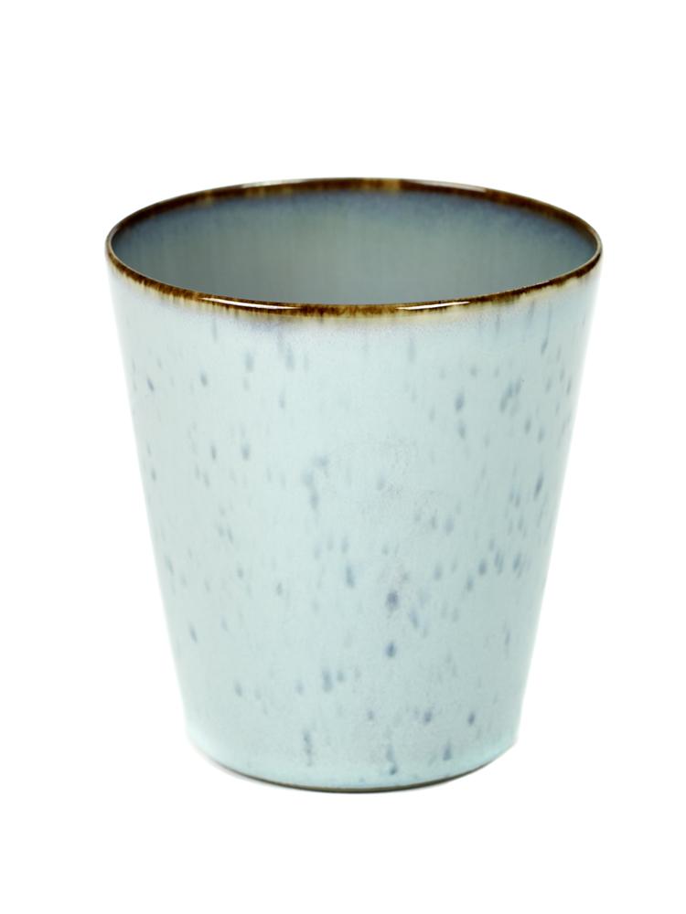 Goblet Conic M D8,5 H9,5 Light Blue / Smokey Blue