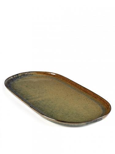 Tapas Plate Surface L 17X35,5 H2  Indi Grey