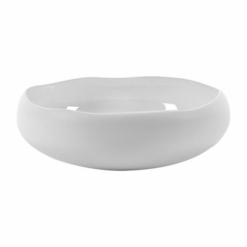 Plate Irregular Dia23 H7.8 White