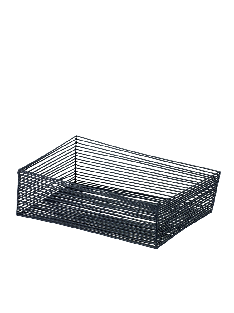 Korg för uppläggning 40 x 22 x 15 svart