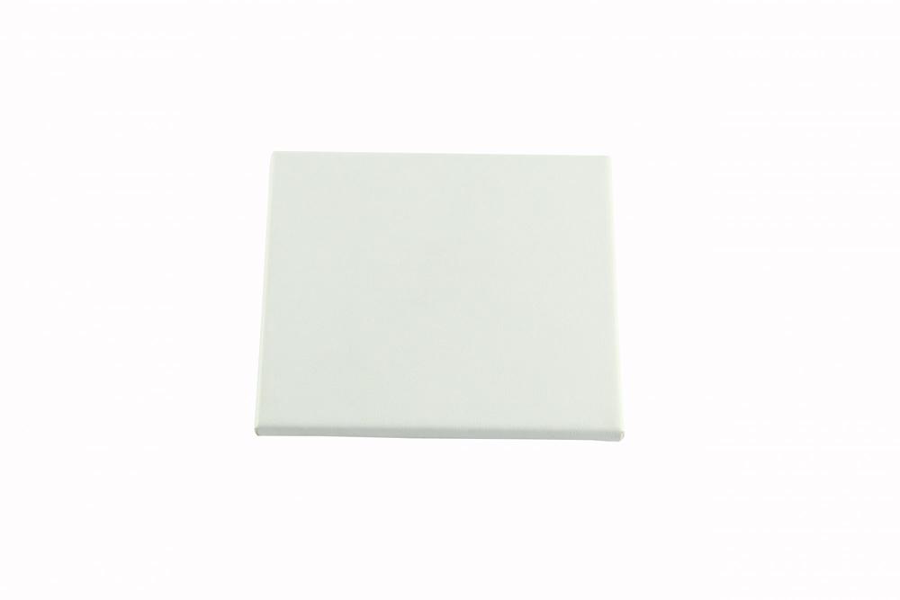 Glasunderlägg vit