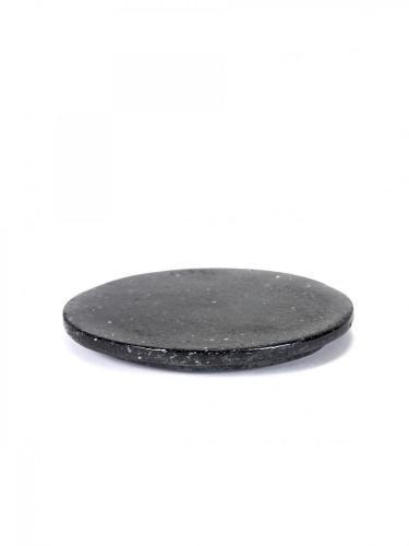 Presentation Platter Black Terrazzo Round D18