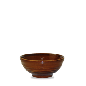 Snacksskål brun