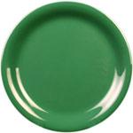 23cm narrow rim plate Green