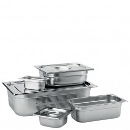 Stainless Steel GN 1/1 Handled Lid