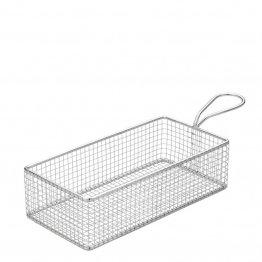 "Rectangular Service Basket 10.25 x 5"" (26 x 13cm)6"