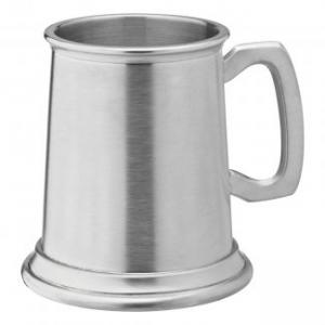 Albany Brushed Pewter Tankard 10oz (28cl) CE1
