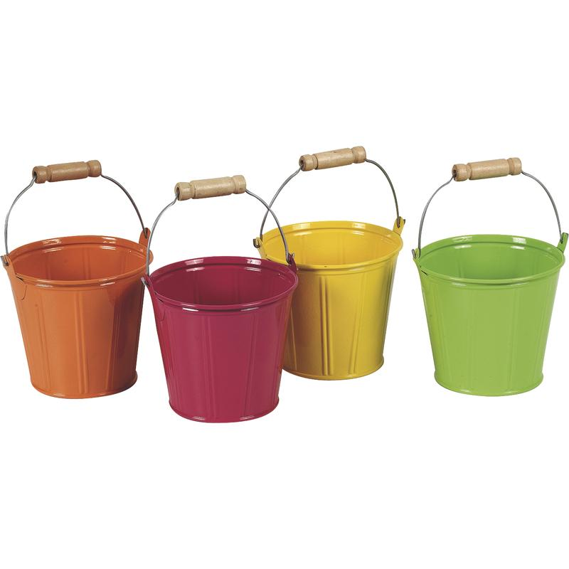 Colored Pails 11cm H=9,5cm