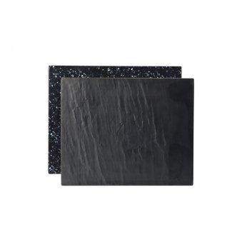 """Slate/Granite Platter GN 1/2 12.5 x 10.25"""" (32 x 26cm)2"""