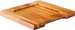 """Square Wood Board 7.5"""" (19cm)6"""