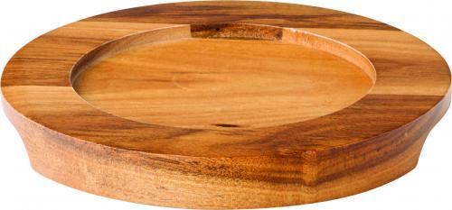 "Round Wood Board 5.5"" (14.2cm)6"