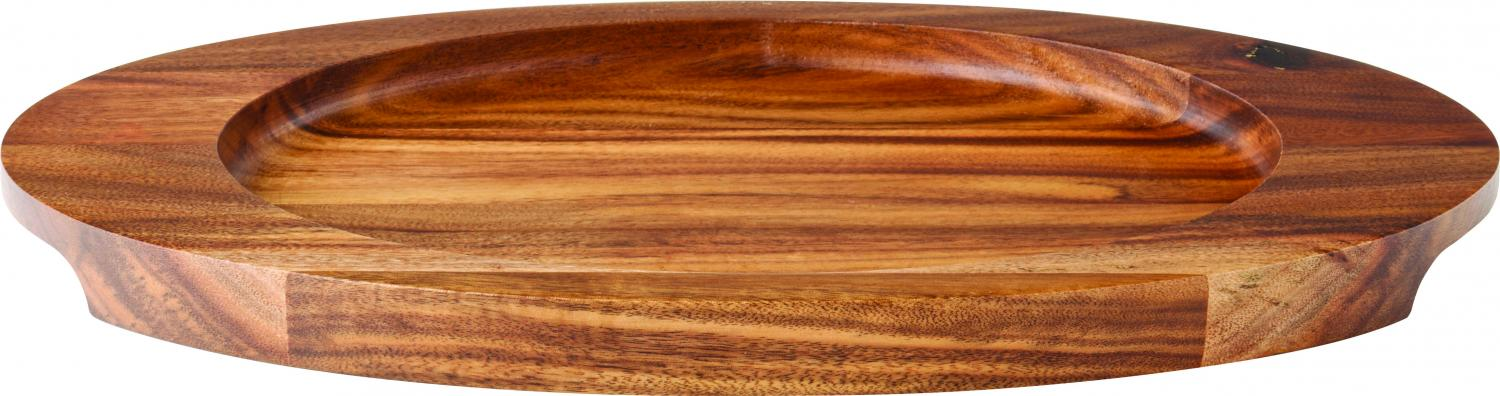 "Oval Wood Board 12 x 7"" (30.5 x 17.5cm)6"
