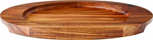 "Oval Wood Board 12 x 7"" (30.5 x 17.5cm)6"