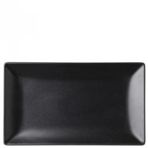 "Noir Rectangular Black Plate 10 x 5.75"" (25 x 14.5cm)12"