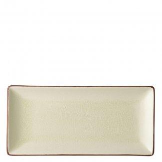 "Stone Rectangular Plate 11.5x5.5"" (30x14cm)6"
