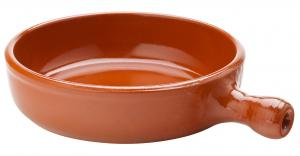 Tapas fat handtag 17,5 cm 64 cl terracotta