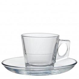 Espressokopp i glas 7 cl