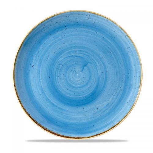 Flat tallrik 28,8cm blå