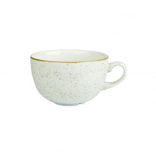 Stonecast Barley White  Cappuccino Cup 17.5Oz Box 6