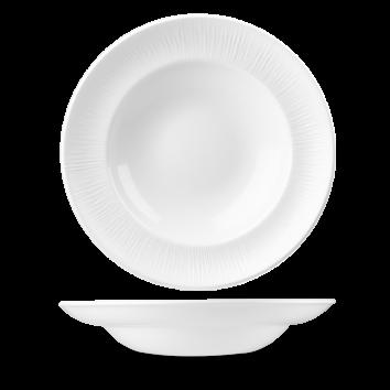 Tallrik djup pasta 30,8 cm vit