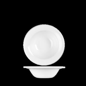 Tallrik djup 17 cm 25,6 cl vit