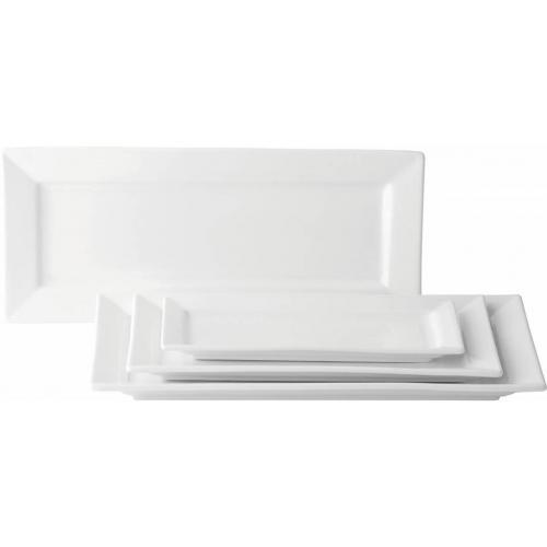 """Matrix Rectangular Plate 15 x 5.75"""" (36x 15cm)"""