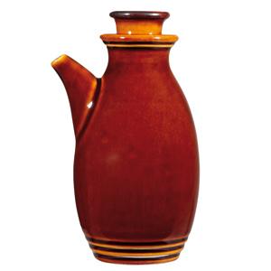 Rustic Brown  Oil / Vinegar Bottle 10Oz Box 6