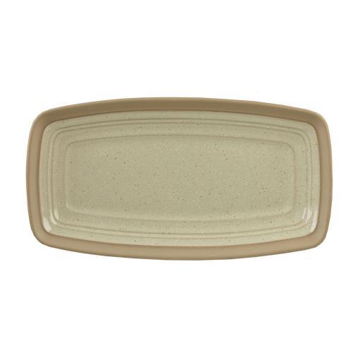 "Igneous  Rectangle Plate 11 3/8X5 7/8"" Box 6"