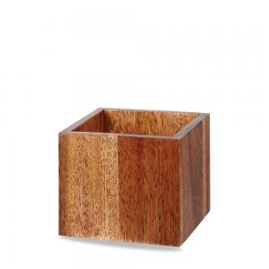 Kub 12 x 10 x 12 cm trä