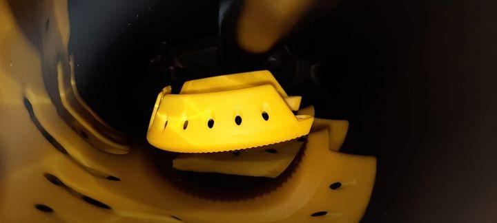 Yellow Iron Block shoe